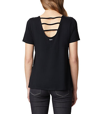 Women's Essential Elements™ Short Sleeve Shirt Essential Elements™ SS Shirt | 466 | L, Black, back