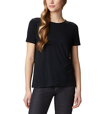 T-shirt à manches courtes Essential Elements™ pour femme Essential Elements™ SS Shirt | 466 | L, Black, front