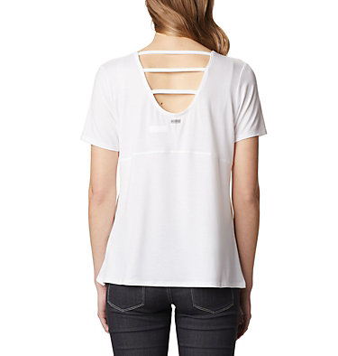 Women's Essential Elements™ Short Sleeve Shirt Essential Elements™ SS Shirt | 466 | L, White, back
