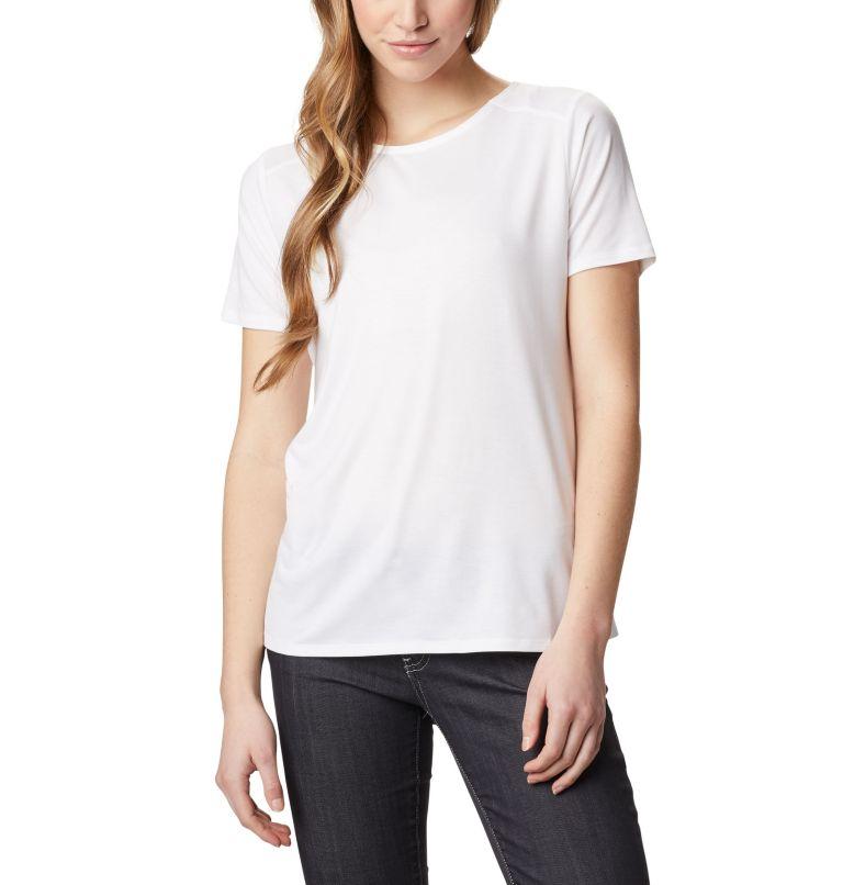 Essential Elements™ SS Shirt | 100 | S T-shirt à manches courtes Essential Elements™ pour femme, White, front