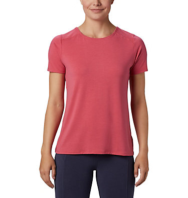 T-shirt à manches courtes Essential Elements™ pour femme Essential Elements™ SS Shirt | 466 | L, Rouge Pink, front