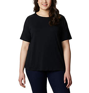 Women's Essential Elements™ Short Sleeve Shirt – Plus Size