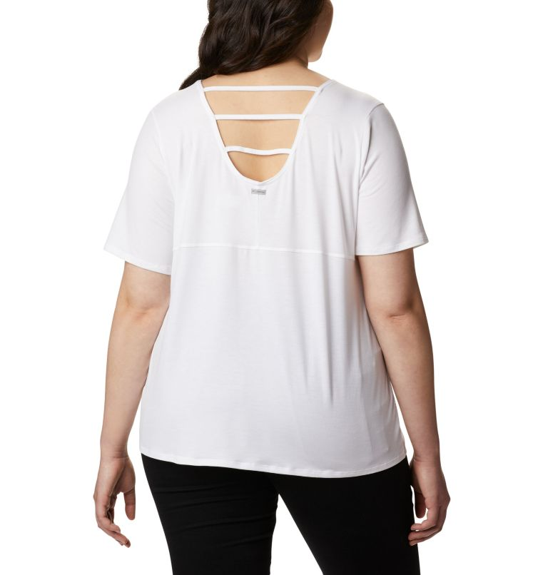 Women's Essential Elements™ Short Sleeve Shirt – Plus Size Women's Essential Elements™ Short Sleeve Shirt – Plus Size, back