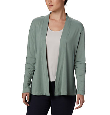 Cardigan Essential Elements™ pour femme Essential Elements™ Cardigan | 100 | XS, Light Lichen, front