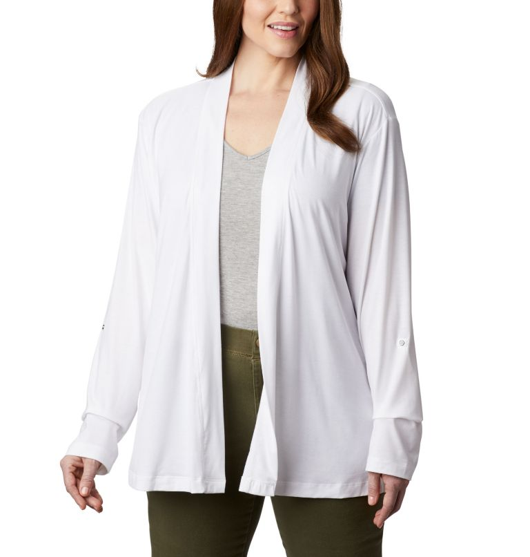 Women's Essential Elements™ Cardigan – Plus Size Women's Essential Elements™ Cardigan – Plus Size, front