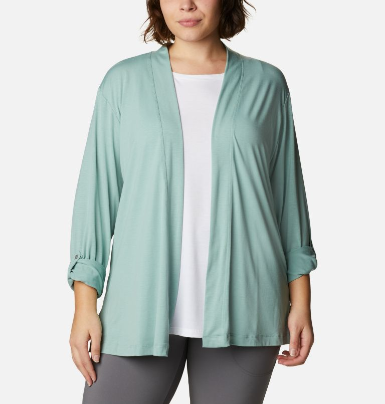 Women's Essential Elements™ Cardigan – Plus Size Women's Essential Elements™ Cardigan – Plus Size, a4