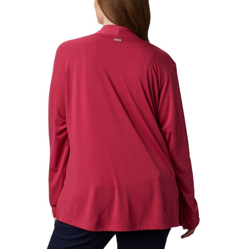 Women's Essential Elements™ Cardigan – Plus Size Women's Essential Elements™ Cardigan – Plus Size, back