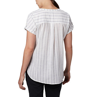 Women's Camp Henry™ Relaxed Shirt Camp Henry™ Relaxed Shirt   556   S, White Stripe, back
