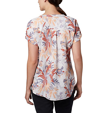 Women's Camp Henry™ Relaxed Shirt Camp Henry™ Relaxed Shirt   556   S, New Moon Floral Print, back