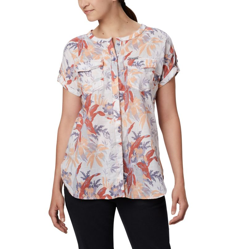 Women's Camp Henry™ Relaxed Shirt Women's Camp Henry™ Relaxed Shirt, front