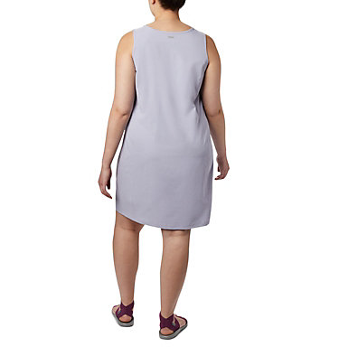 Women's Anytime Casual™ III Dress – Plus Size Anytime Casual™ III Dress | 580 | 2X, Twilight Heather, back