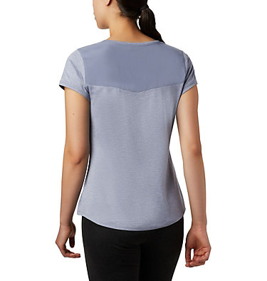 T-shirt à manches courtes Place To Place™ II pour femme Place To Place™ II SS Tee | 556 | M, New Moon Heather, back