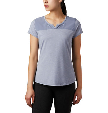T-shirt à manches courtes Place To Place™ II pour femme Place To Place™ II SS Tee | 556 | M, New Moon Heather, front