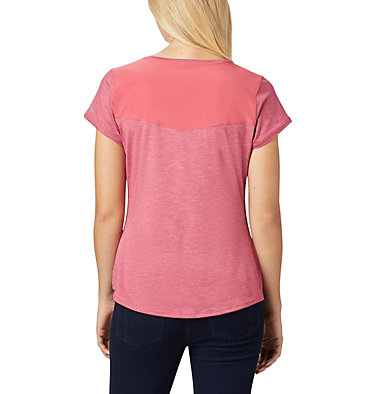 T-shirt à manches courtes Place To Place™ II pour femme Place To Place™ II SS Tee | 556 | M, Rouge Pink Heather, back