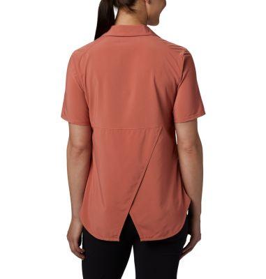 Women's Place To Place™ Short Sleeve Sun Shirt   Columbia Sportswear