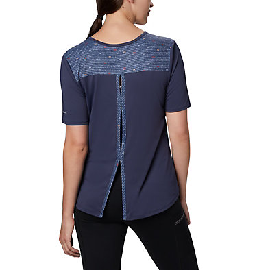 Women's Chill River™ Short Sleeve Shirt Chill River™ SS | 466 | M, Nocturnal, Print, back