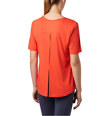Women's Chill River™ Short Sleeve Shirt Chill River™ SS | 466 | M, Bright Poppy, back