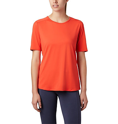 Women's Chill River™ Short Sleeve Shirt Chill River™ SS | 466 | M, Bright Poppy, front