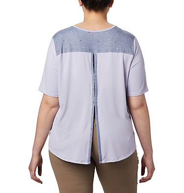 Women's Chill River™ Short Sleeve Shirt – Plus Size Chill River™ SS | 466 | 1X, Twilight, Print, back