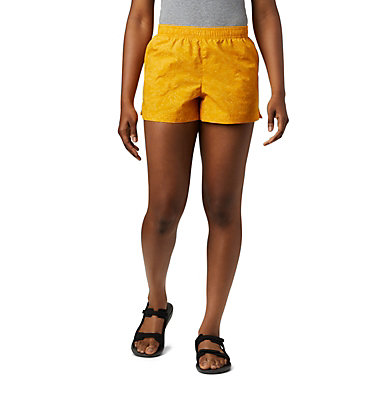 Women's Sandy River™ II Printed Shorts Sandy River™ II Printed Short | 466 | S, Bright Gold Deepwater Print, front