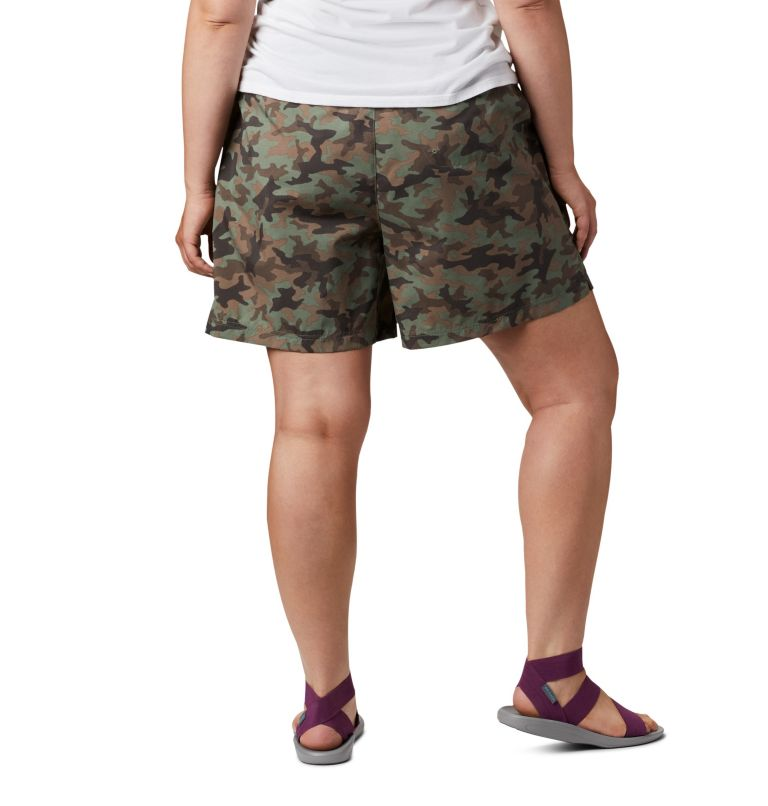 Women's Sandy River™ II Printed Shorts - Plus Size Women's Sandy River™ II Printed Shorts - Plus Size, back
