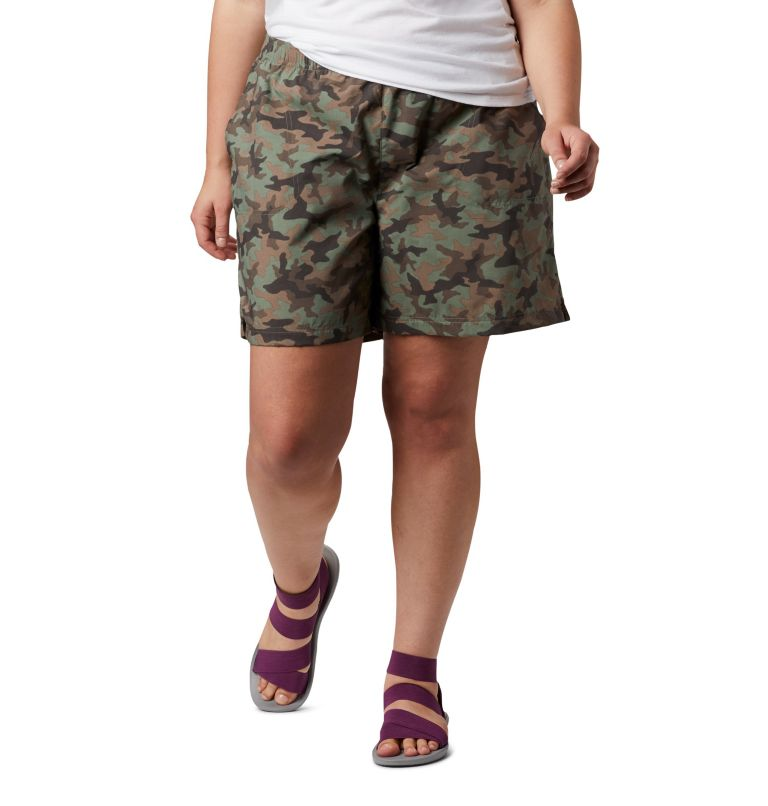 Women's Sandy River™ II Printed Shorts - Plus Size Women's Sandy River™ II Printed Shorts - Plus Size, front