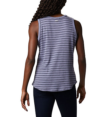 Women's Longer Days™ Tank Top Longer Days™ Tank | 031 | XS, New Moon Stripe, back