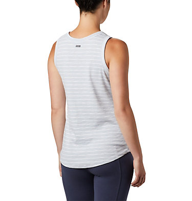 Camisole Longer Days™ pour femme – Grandes tailles Longer Days™ Tank | 870 | 1X, Cirrus Grey Stripe, back