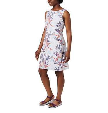 Women's Chill River™ Printed Dress Chill River™ Printed Dress | 556 | L, New Moon Magnolia Print, front