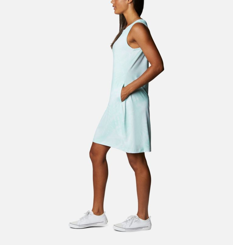 Chill River™ Printed Dress | 368 | M Women's Chill River™ Printed Dress, Mint Cay Tonal Sunburst Print, a1