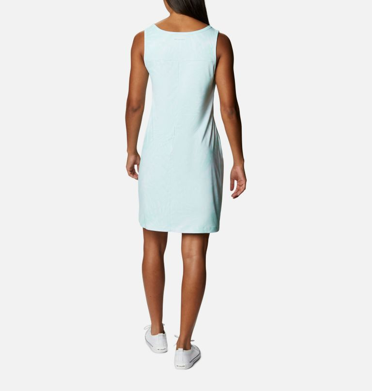 Chill River™ Printed Dress | 368 | M Women's Chill River™ Printed Dress, Mint Cay Tonal Sunburst Print, back