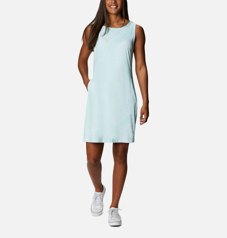 Chill River™ Printed Dress | 368 | M Women's Chill River™ Printed Dress, Mint Cay Tonal Sunburst Print, front
