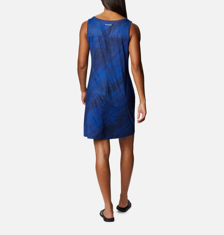 Chill River™ Printed Dress | 410 | S Women's Chill River™ Printed Dress, Lapis Blue Tonal Sunburst Print, back