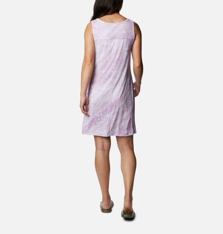 Chill River™ Printed Dress | 606 | S Women's Chill River™ Printed Dress, Blossom Pink Tonal Sunburst Print, back