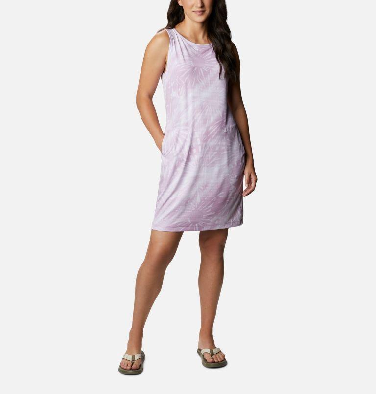 Chill River™ Printed Dress | 606 | S Women's Chill River™ Printed Dress, Blossom Pink Tonal Sunburst Print, front