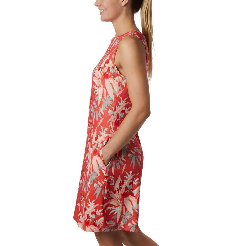 Chill River™ Printed Dress | 847 | L Women's Chill River™ Printed Dress, Bright Poppy Magnolia Print, a2