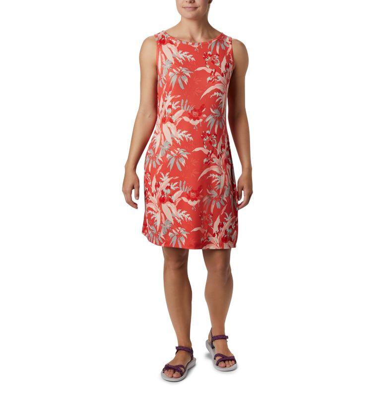 Chill River™ Printed Dress | 847 | L Women's Chill River™ Printed Dress, Bright Poppy Magnolia Print, front