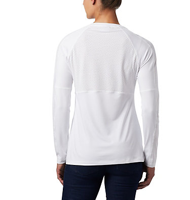 Women's Windgates™ Long Sleeve T-Shirt Windgates™ LS Tee | 340 | L, White, back