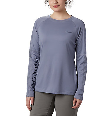 Women's Windgates™ Long Sleeve T-Shirt Windgates™ LS Tee | 340 | L, New Moon, front