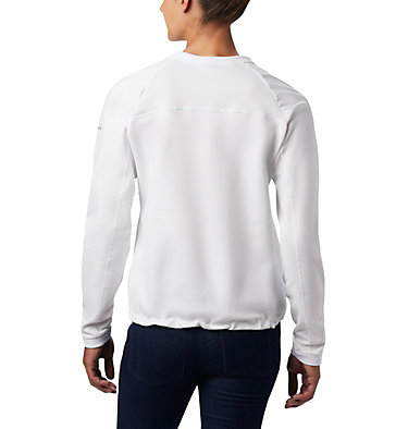 Women's Windgates™ Fleece Crew Windgates™ Fleece Crew | 870 | L, White, back