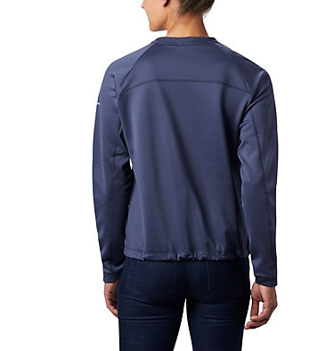 Women's Windgates™ Fleece Sweatshirt Windgates™ Fleece Crew | 847 | L, Nocturnal, back