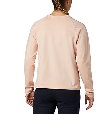 Women's Windgates™ Fleece Sweatshirt Windgates™ Fleece Crew | 847 | L, Peach Cloud, back
