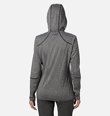 Women's Baker Valley™ Hooded Lightweight Fleece Jacket Baker Valley™ Hooded Fleece | 340 | L, Black Heather, back