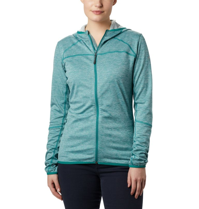 Women's Baker Valley™ Hooded Lightweight Fleece Jacket Women's Baker Valley™ Hooded Lightweight Fleece Jacket, front