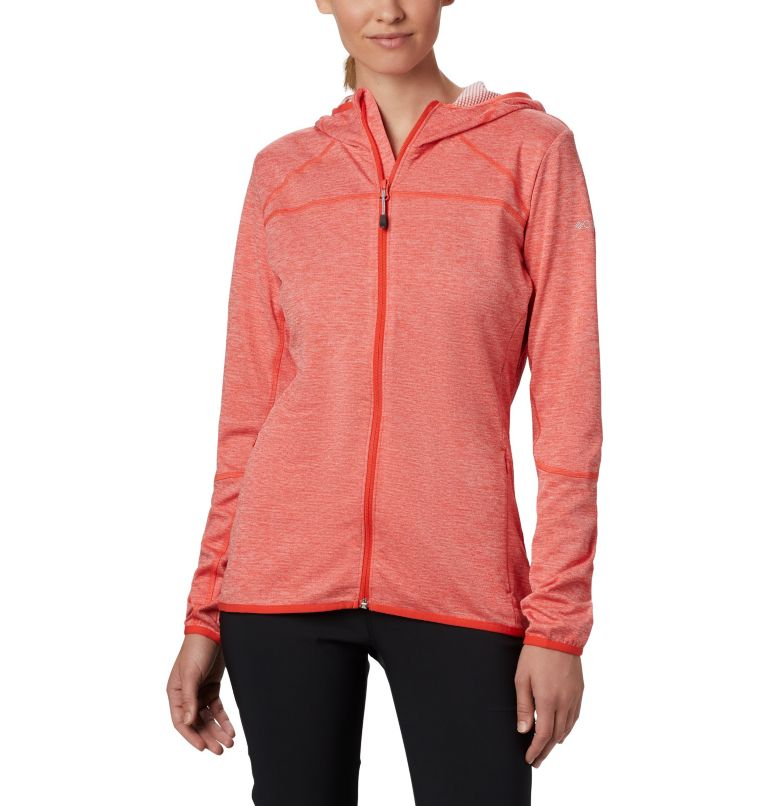 Women's Baker Valley™ Hooded Lightweight Fleece Jacket Women's Baker Valley™ Hooded Lightweight Fleece Jacket, front