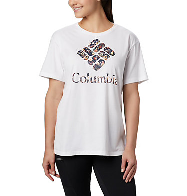 Women's Columbia Park™ Relaxed Tee Columbia Park™ Relaxed Tee | 010 | L, White, Birds N Branches, front