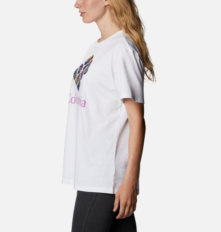 Columbia Park™ Relaxed Tee | 101 | XXL Women's Columbia Park™ Relaxed Tee, White, CGC Print Fill, a1