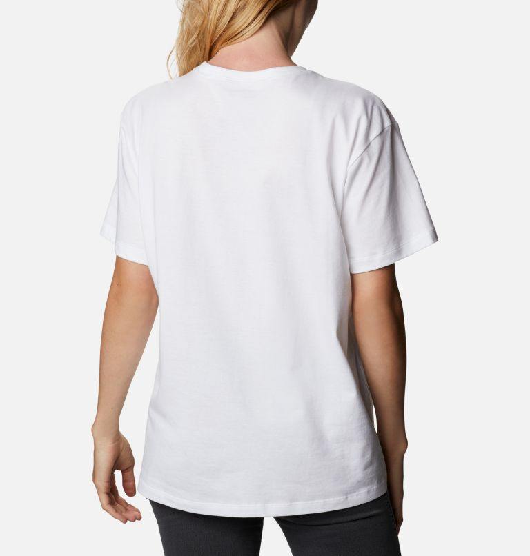 Columbia Park™ Relaxed Tee | 101 | XXL Women's Columbia Park™ Relaxed Tee, White, CGC Print Fill, back