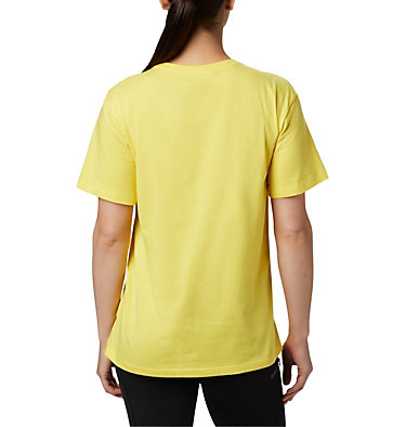 Women's Columbia Park™ Relaxed Tee Columbia Park™ Relaxed Tee | 010 | M, Buttercup, back