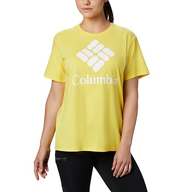 Women's Columbia Park™ Relaxed Tee Columbia Park™ Relaxed Tee | 010 | M, Buttercup, front